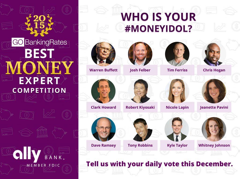 12 Best Money Experts of 2015