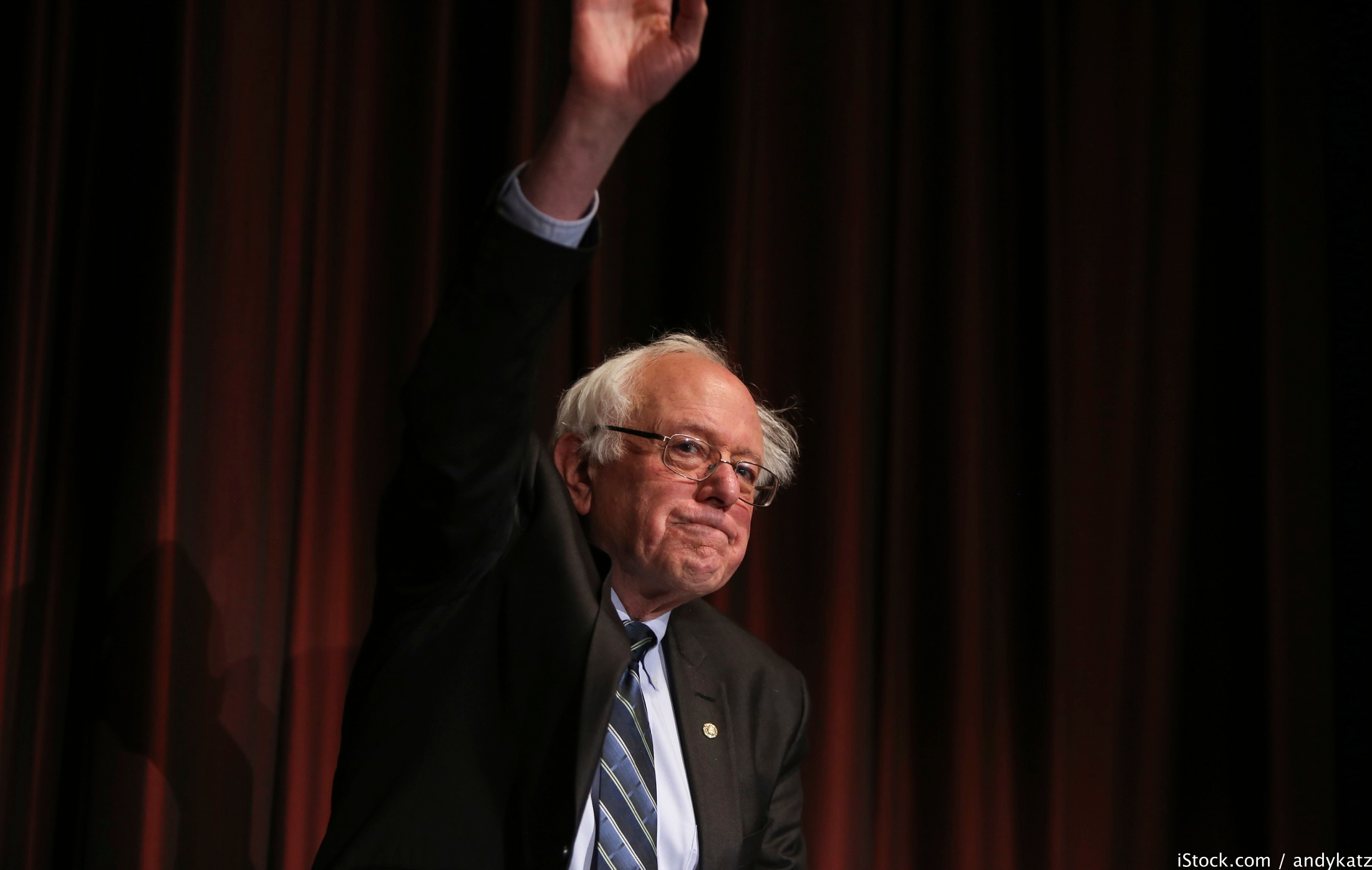 Sanders, 2016, super rich