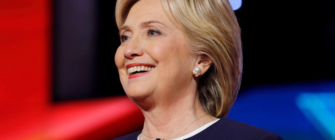 The Evidence    Hillary s America  Vulture Black Glass Mat item