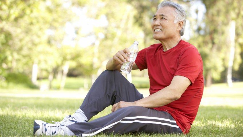 Asian, Healthy, exercise, health, healthy senior, senior