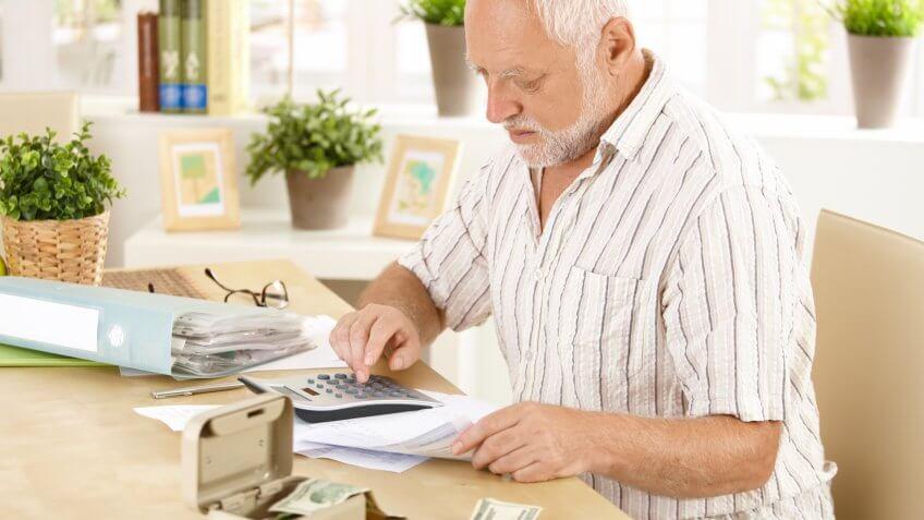 Savings, bills, calculations