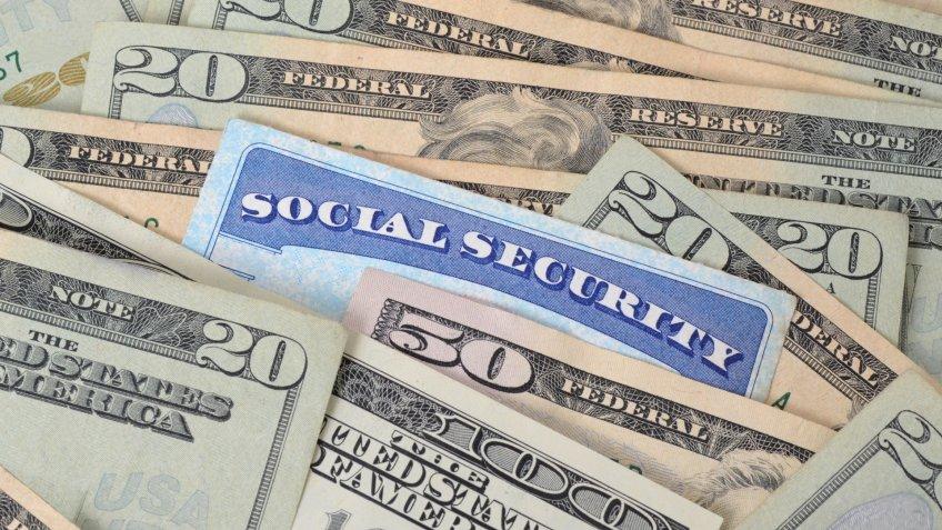 cash, money, social security
