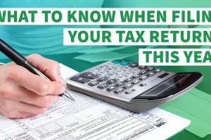 11 Things You Need to Know When Filing Your Tax Return