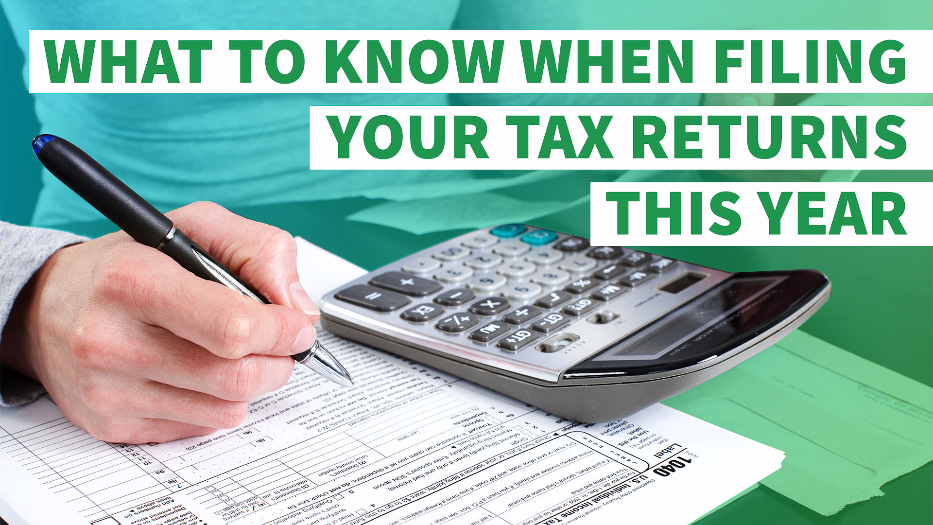 5 Things You Need To Know When Filing Your Tax Return This Year   Gobankingrates
