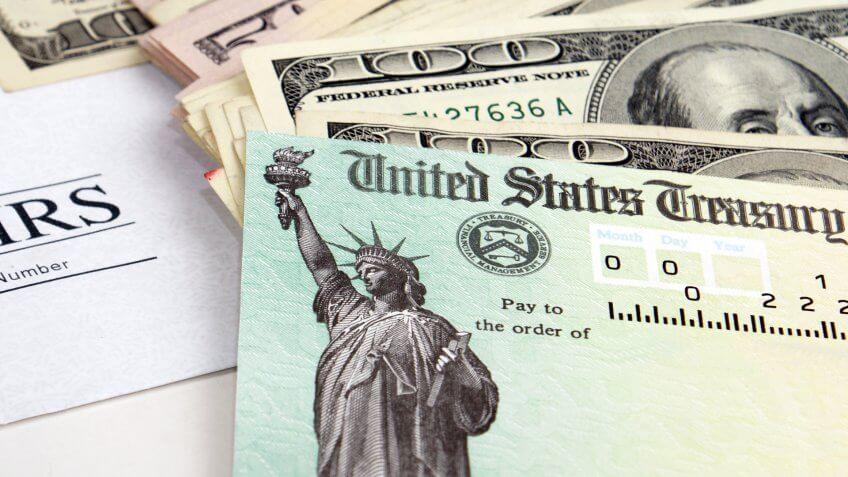 IRS-United-States-Treasury-Tax-Refund-Check