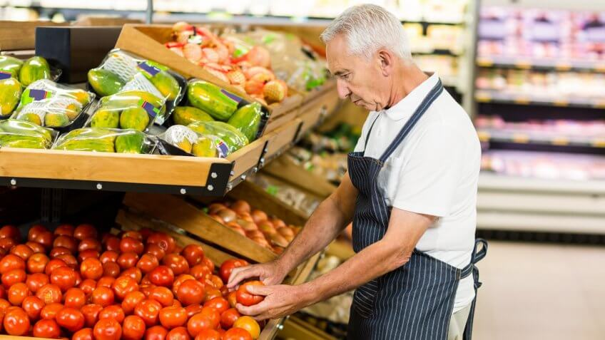 grocer, grocery store, produce