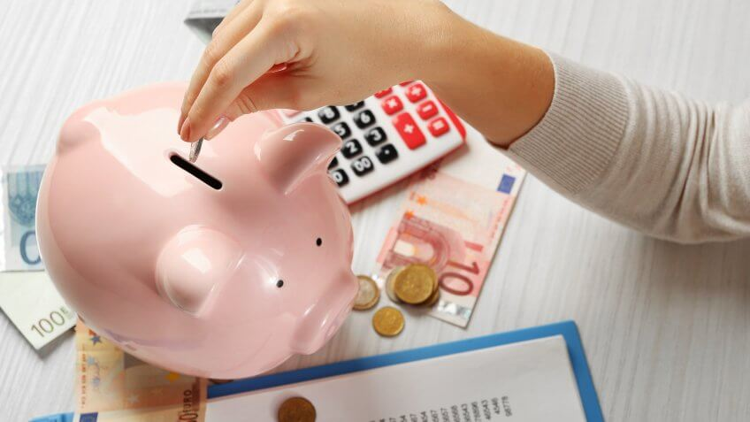 Bank, Europe, European Vacation, Horizontal, Piggy Bank, Save, Savings, money