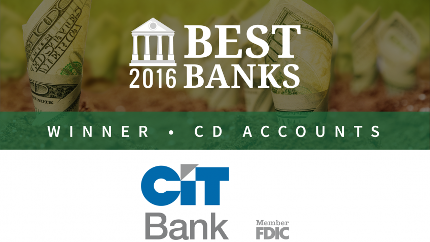 CIT Bank Offers Best CD Accounts of 2016