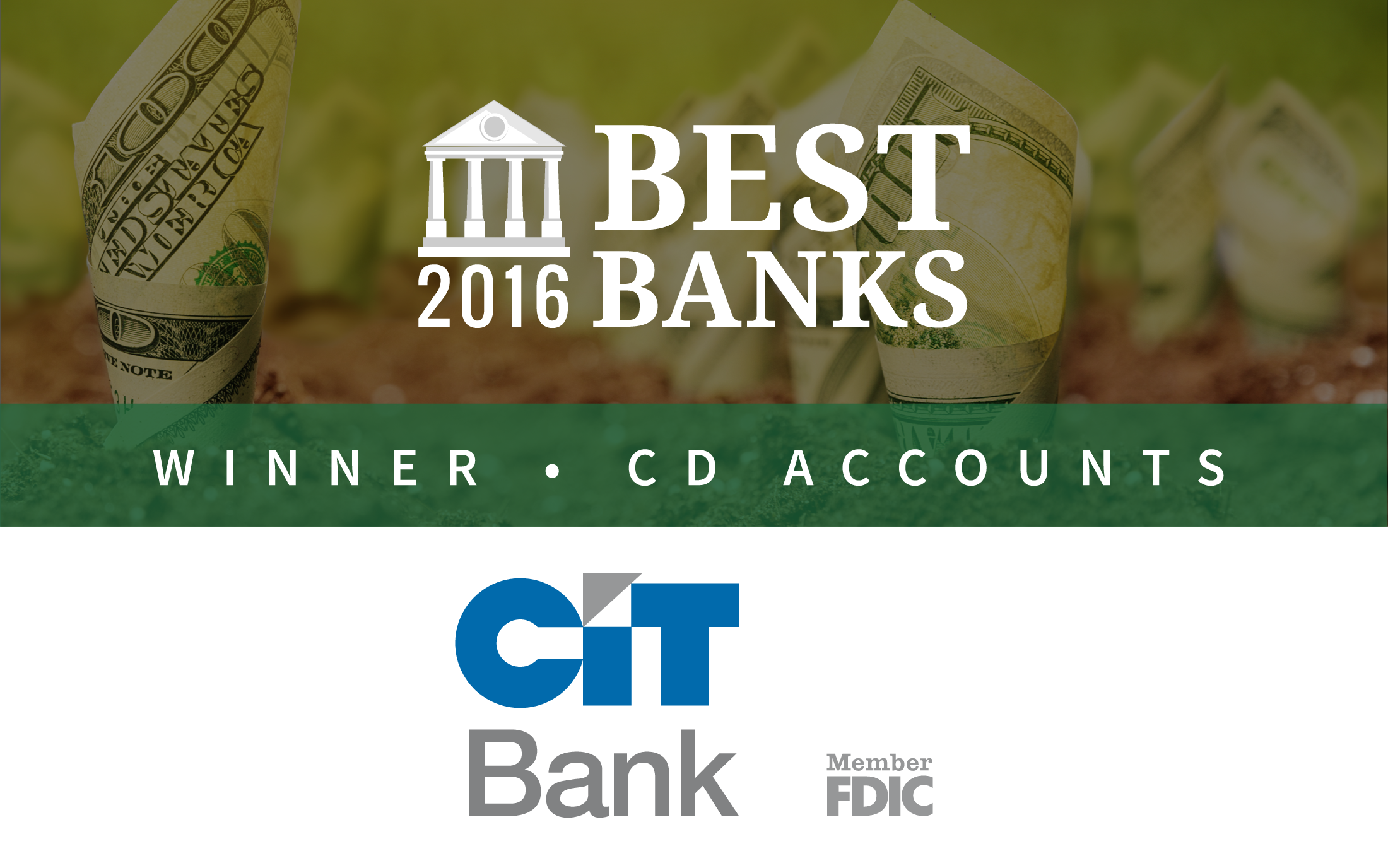 Cit Bank Offers Best Cd Accounts Of 2016 Gobankingrates