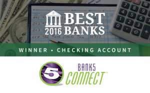 Bank5 Connect Offers Best Checking Account of 2016