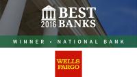 Wells Fargo Is the Best National Bank of 2016