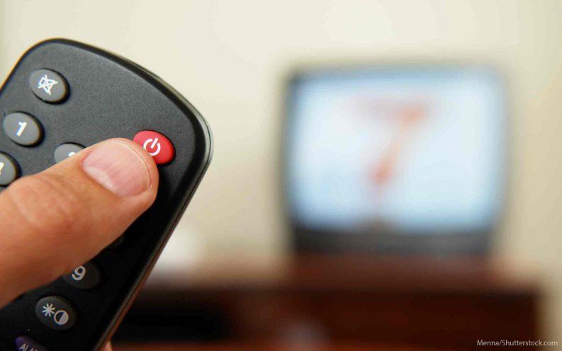 turn off stock market tv