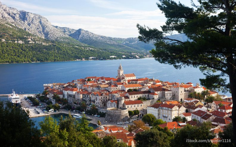 Croatia budget travel on the water