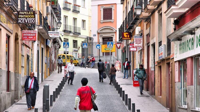 Lavapies Madrid Spain