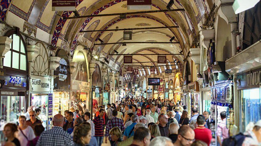 Grand Bazaar Istanbul Turkey