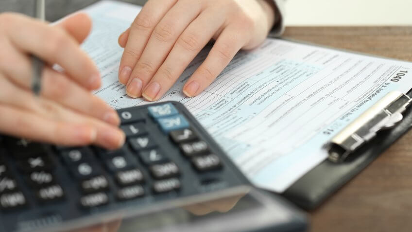 calculating tax information