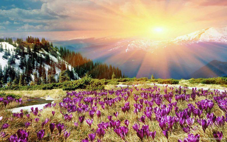 Colorado mountains spring travel