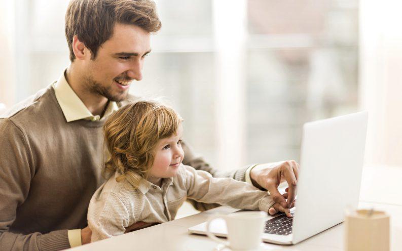 father son work-life balance