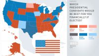 The Best Presidential Candidate for Americans' Money in Every State