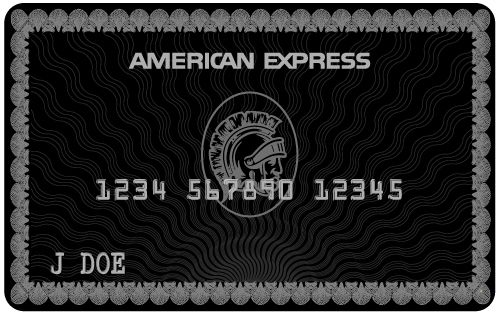 The American Express Centurion Card