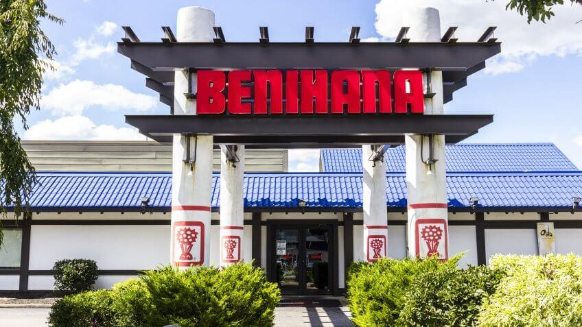 benihana store front