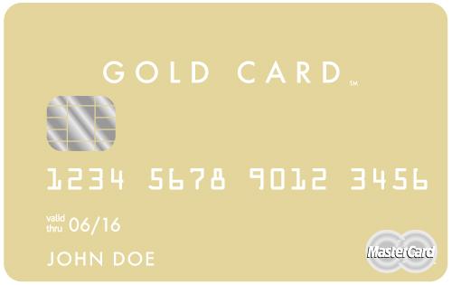 The Luxury Card: MasterCard Gold Card