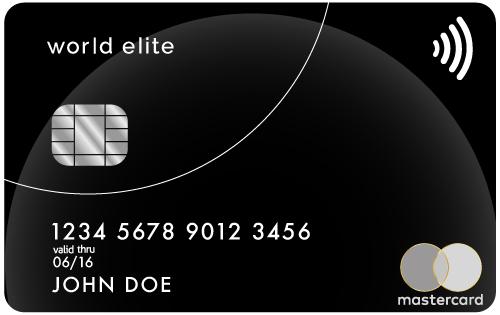 The World Elite MasterCard
