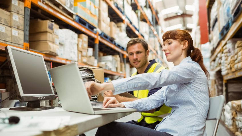 warehouse order filler