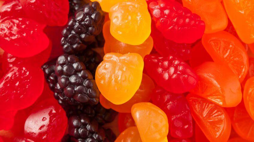 Organic Fruit Gummy Snacks for Kids.