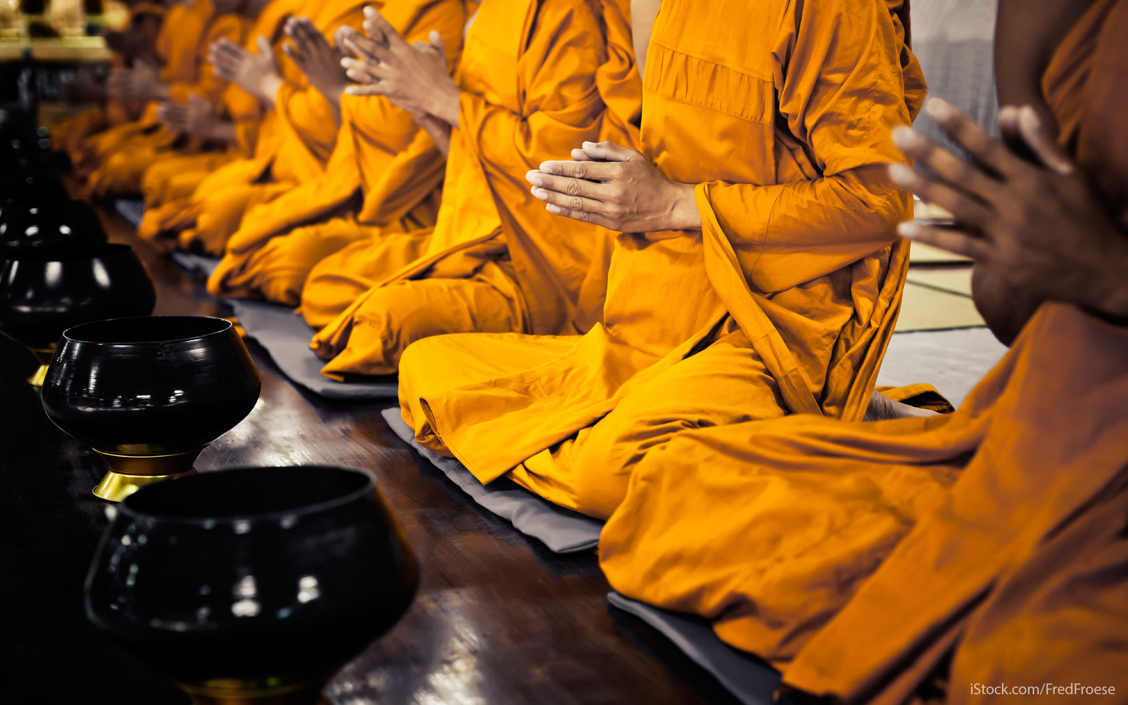Monks on Amazon