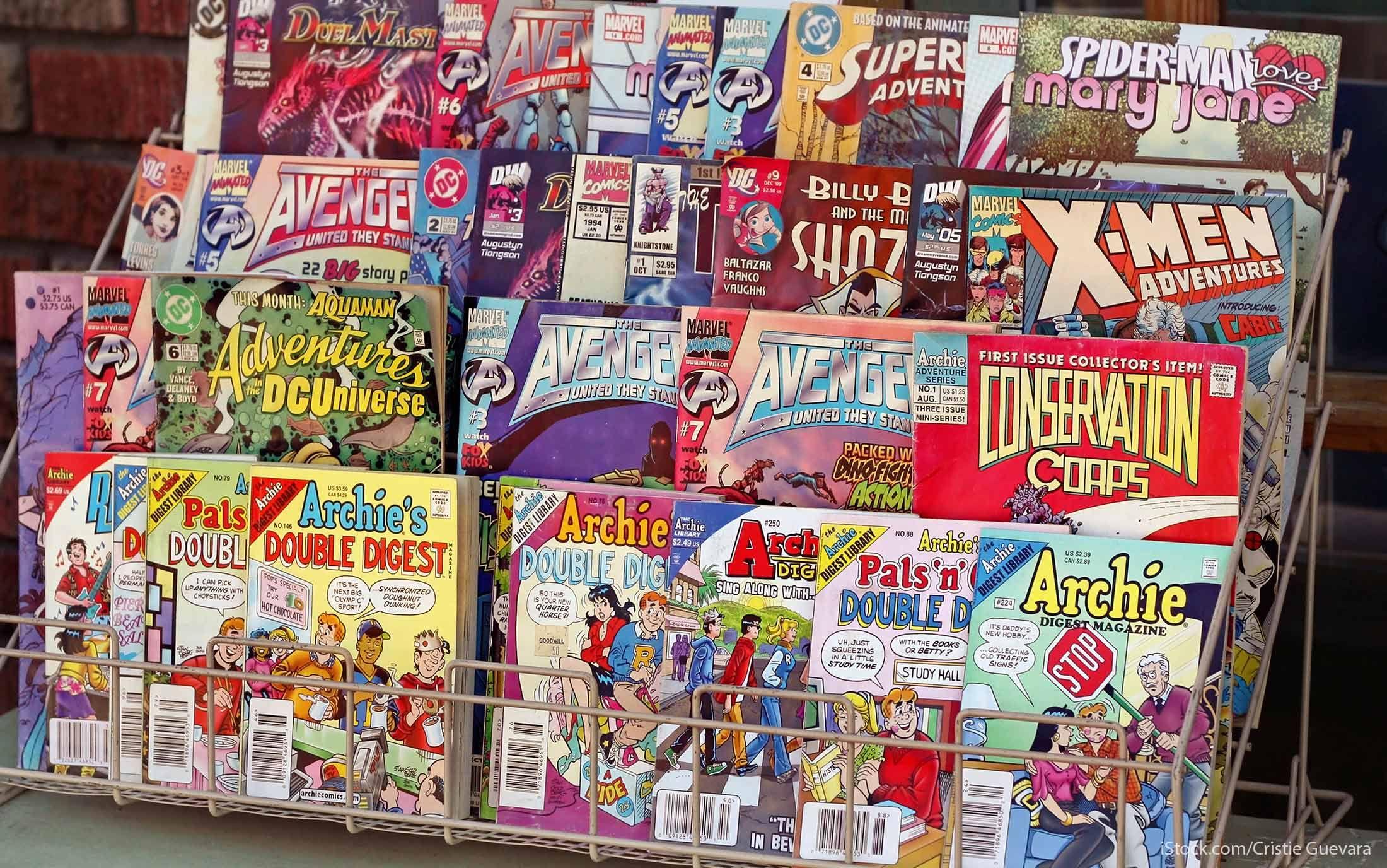 invest in comic books
