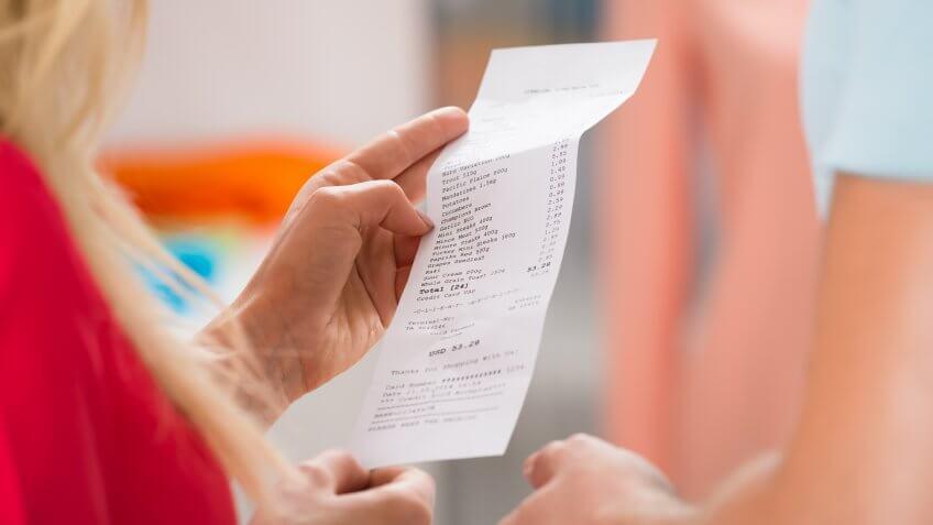 Tax, sales-receipt