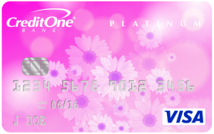 Credit One Unsecured Platinum Visa Card