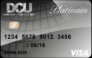 DCU Platinum Visa