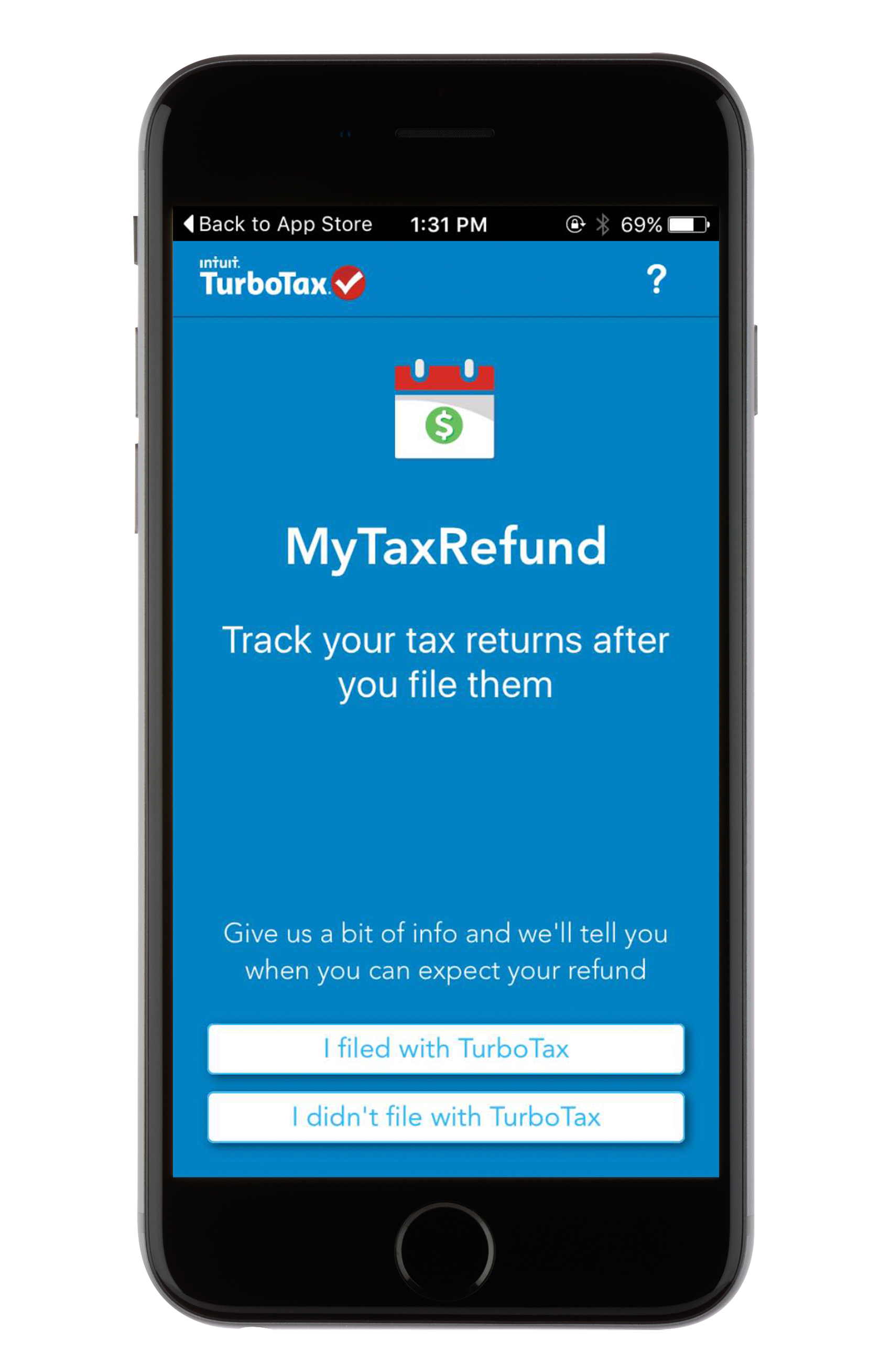 MyTaxRefund by TurboTax - Track Your Refund Mobile App ...