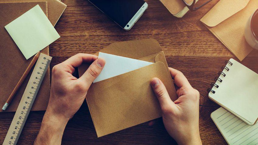 envelope stuffing side job