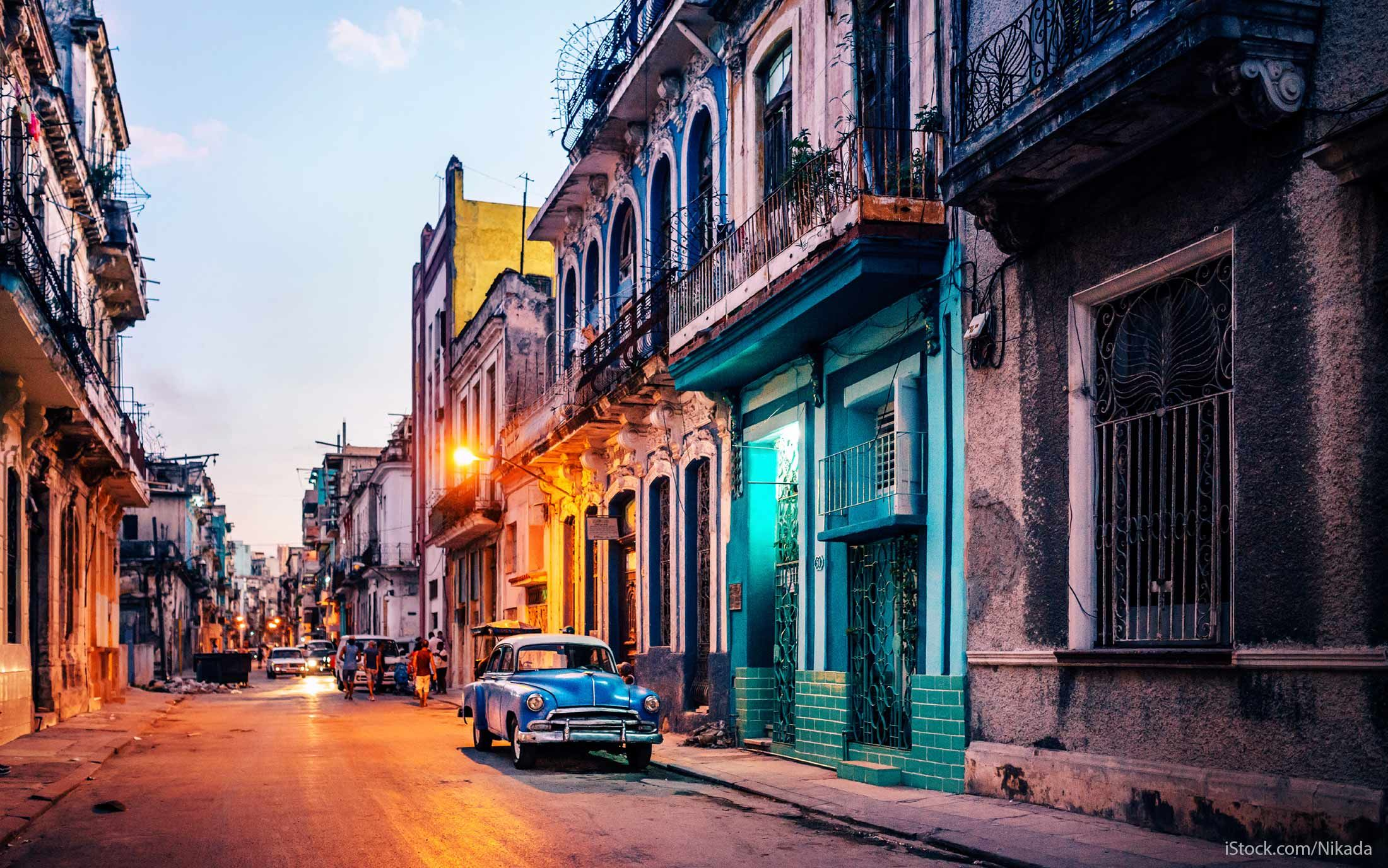 Cuba tourism photo of a street