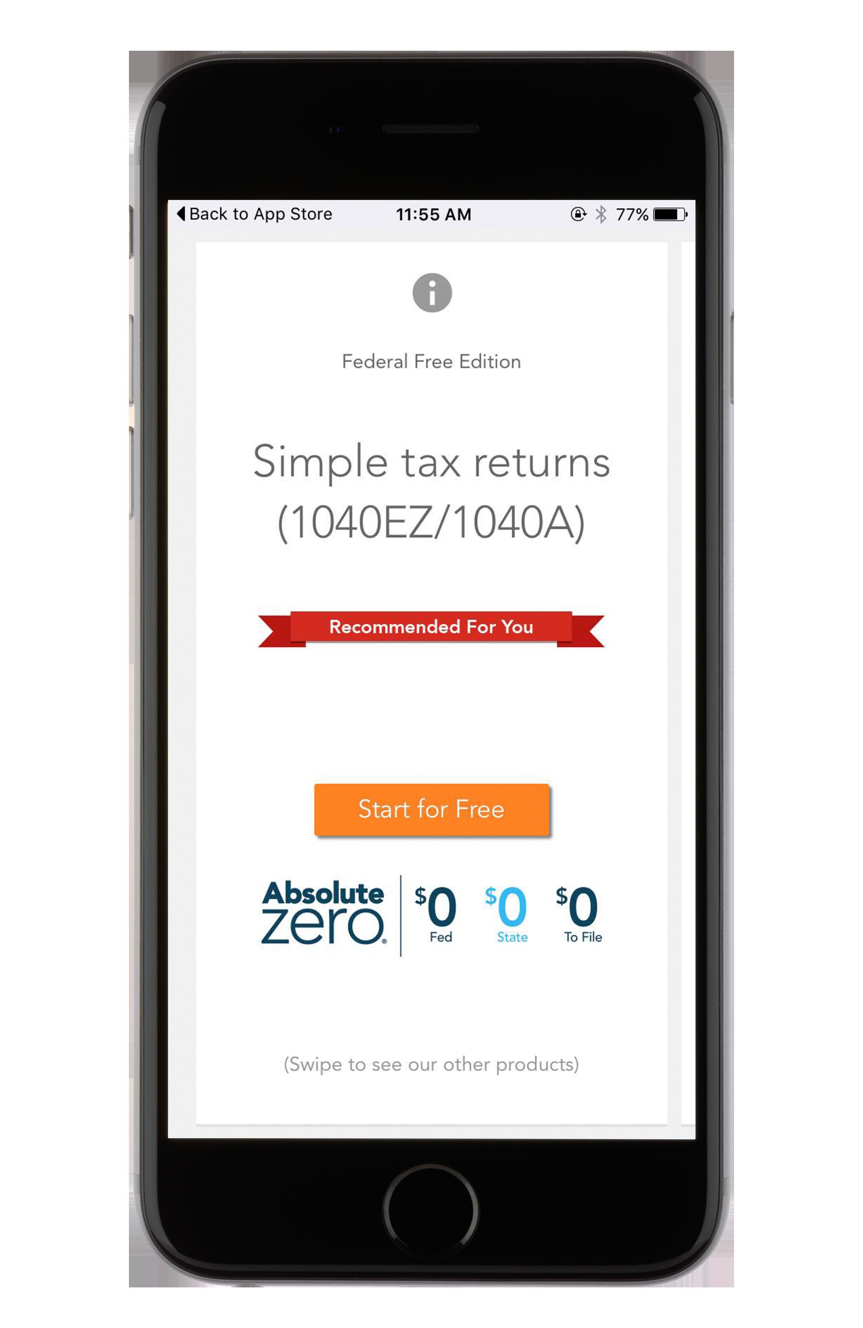 Turbotax Tax Preparation Mobile App Review Gobankingrates
