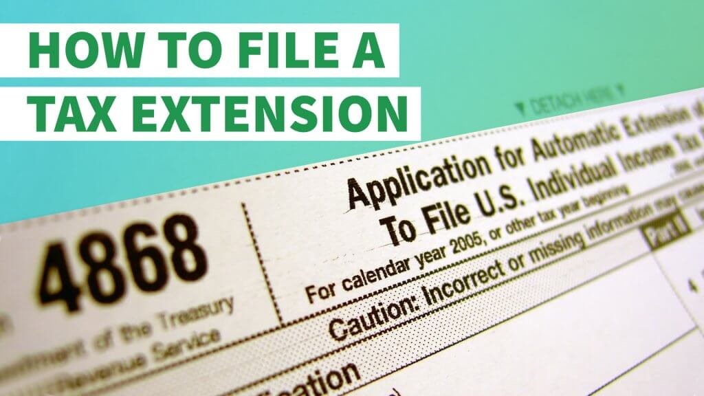 How To File A Tax Extension With The Irs Gobankingrates