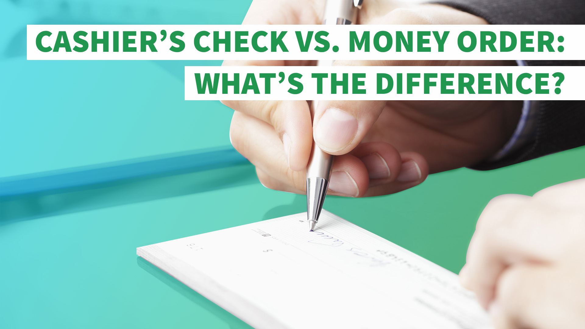 cashier s check vs money order here s the difference cashier s check vs money order here s the difference gobankingrates