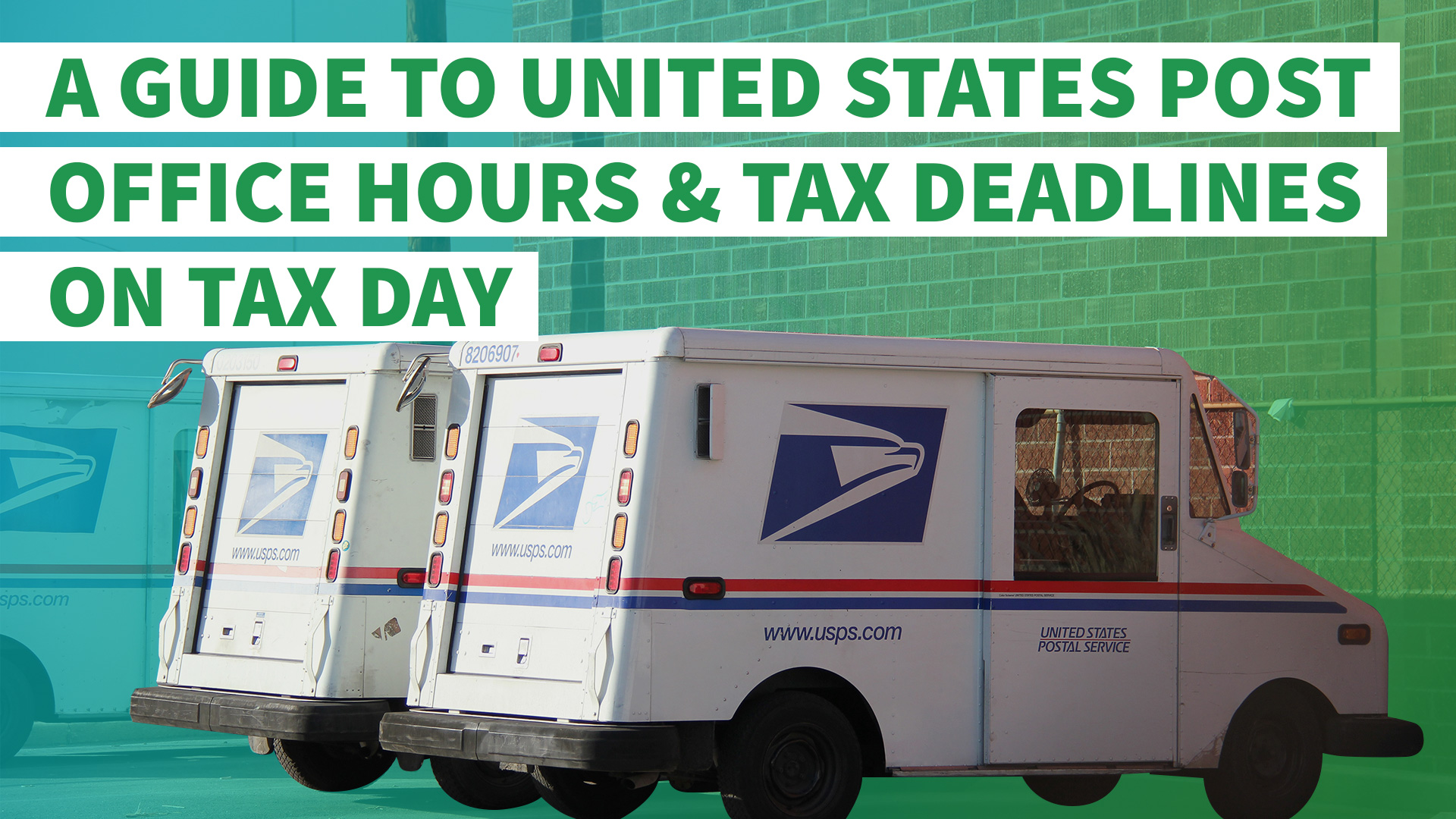 How to file state taxes for free gobankingrates filing taxes last minute a guide to united states post office hours and tax deadlines ccuart Image collections