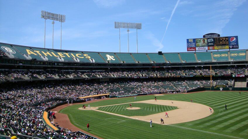 Oakland Athletics As, Oakland-Coliseum