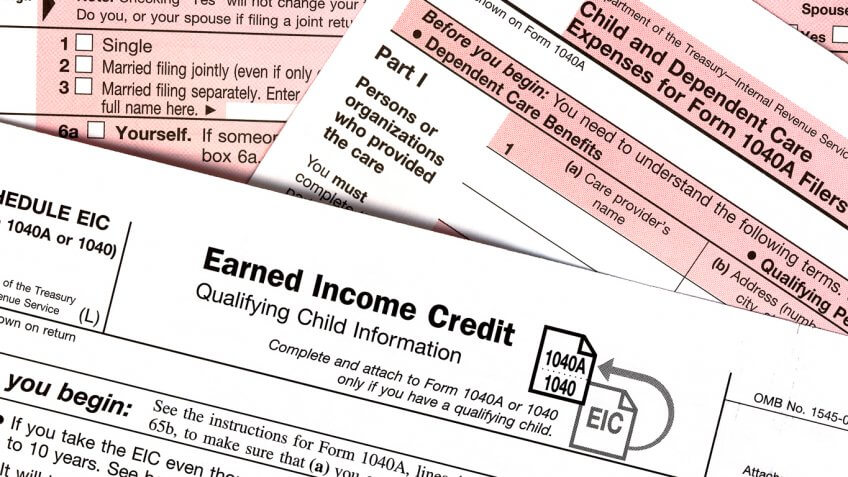 earned income credit tax form
