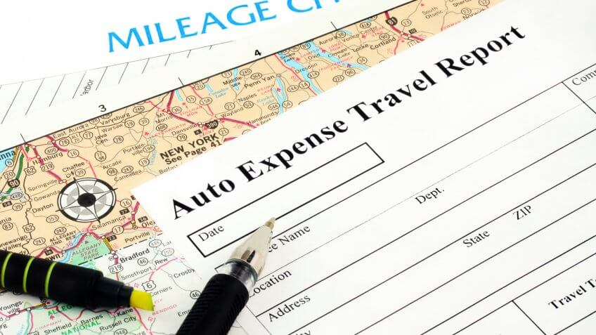 auto expense travel report