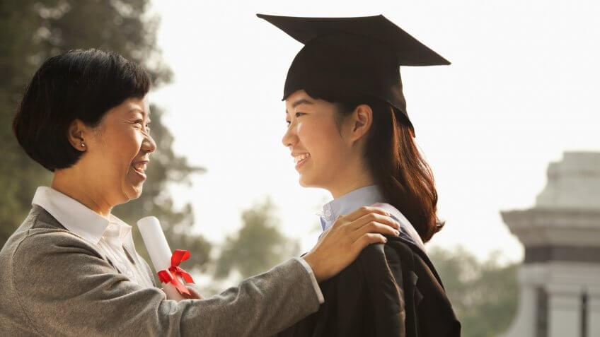 college student graduating loans