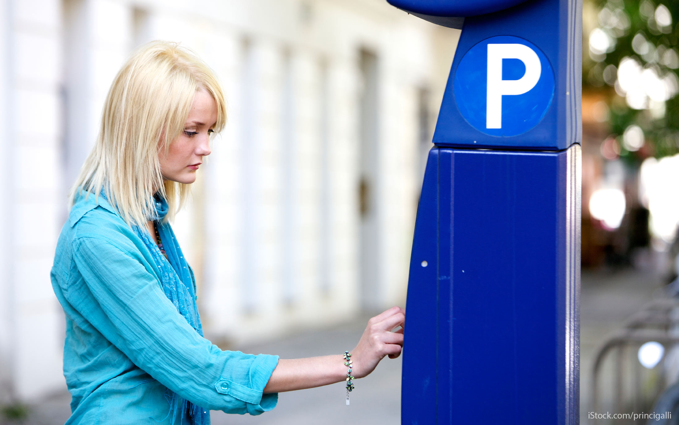 cashless parking meters