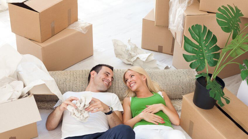 Moving into home