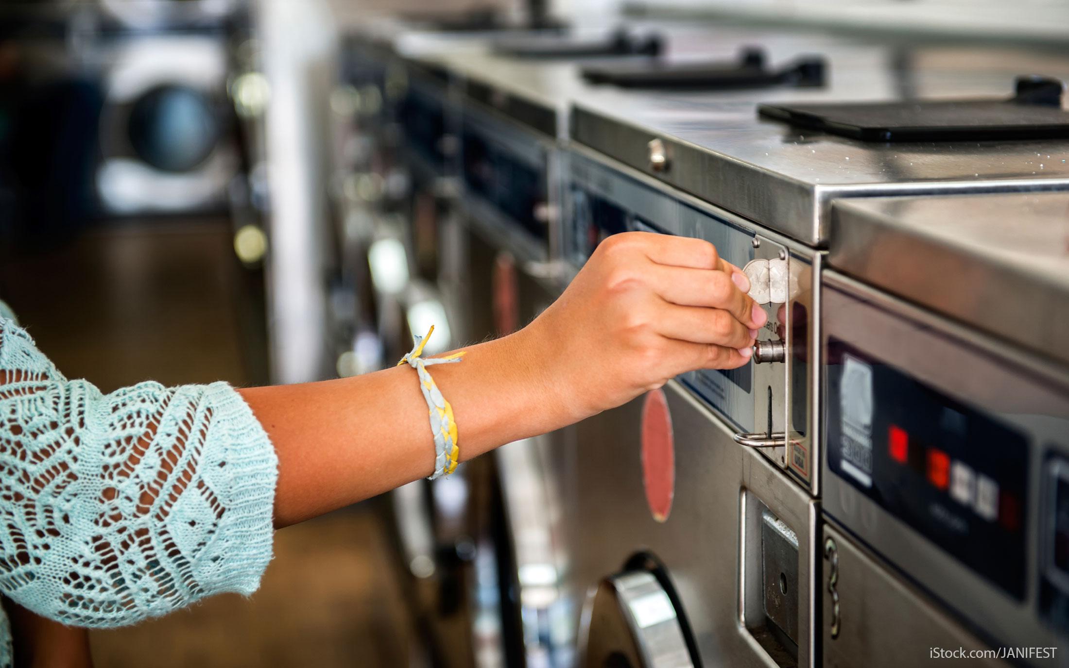 cashless laundromats