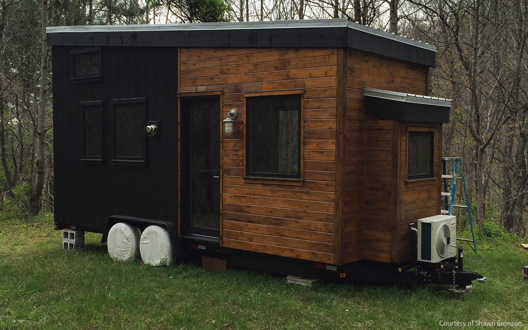 tiny homes building material