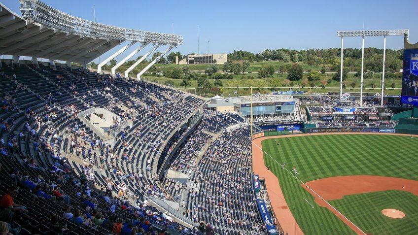 Kansas-City-Royals, Kauffman-Stadium